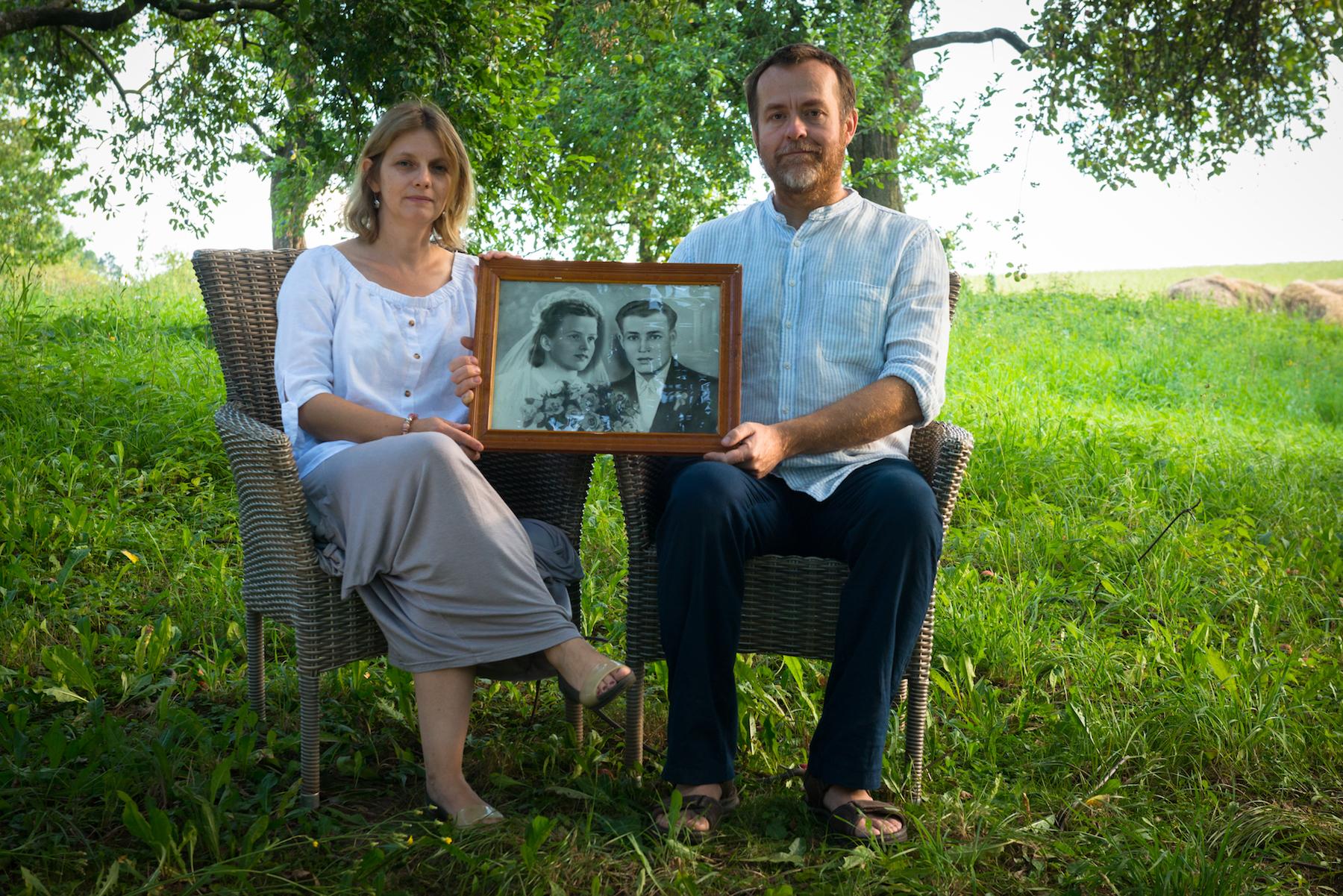 Ewelina i Krzysztof Rozpędowscy - gospodarze Villi Greta