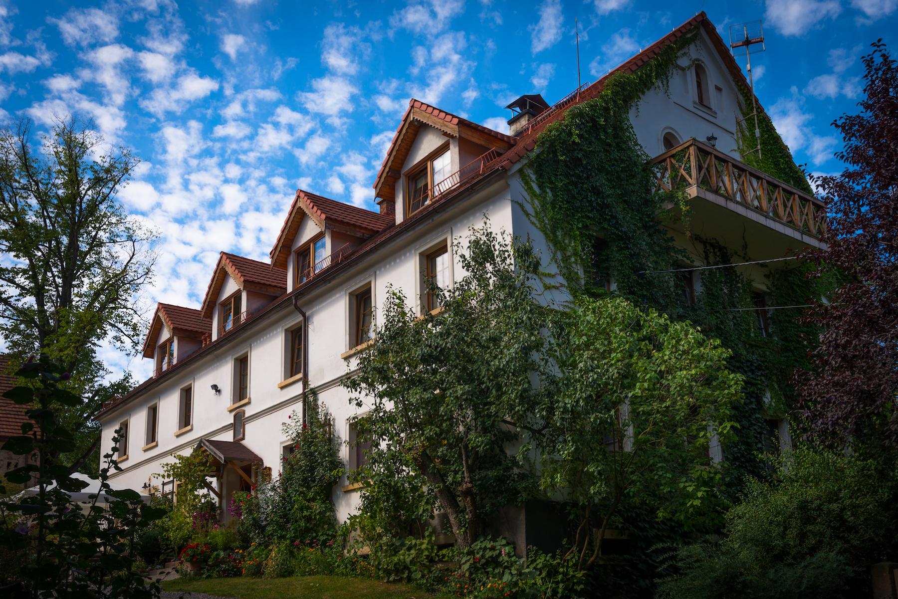 Pensjonat Villa Greta, który oferuje 42 miejsca noclegowe